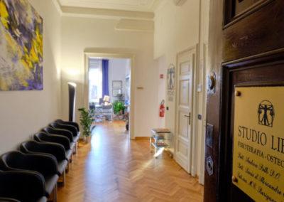 Studio Libra Trieste sala d'aspetto